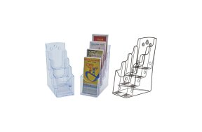 1/3 A4 BROCHURE HOLDER 4 TIER